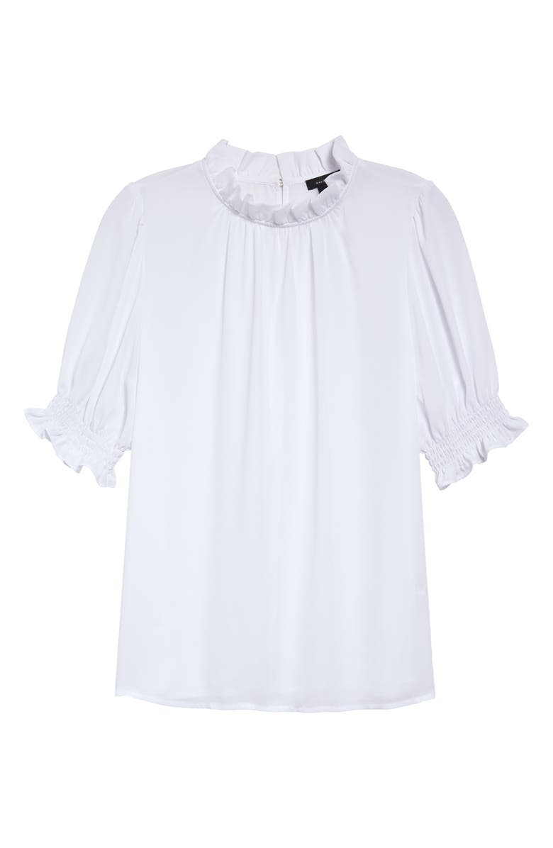 HALOGEN<SUP>®</SUP> Smocked Sleeve Top, Main, color, 100