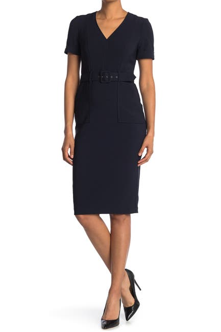 Image of Maggy London Utility Sheath Dress