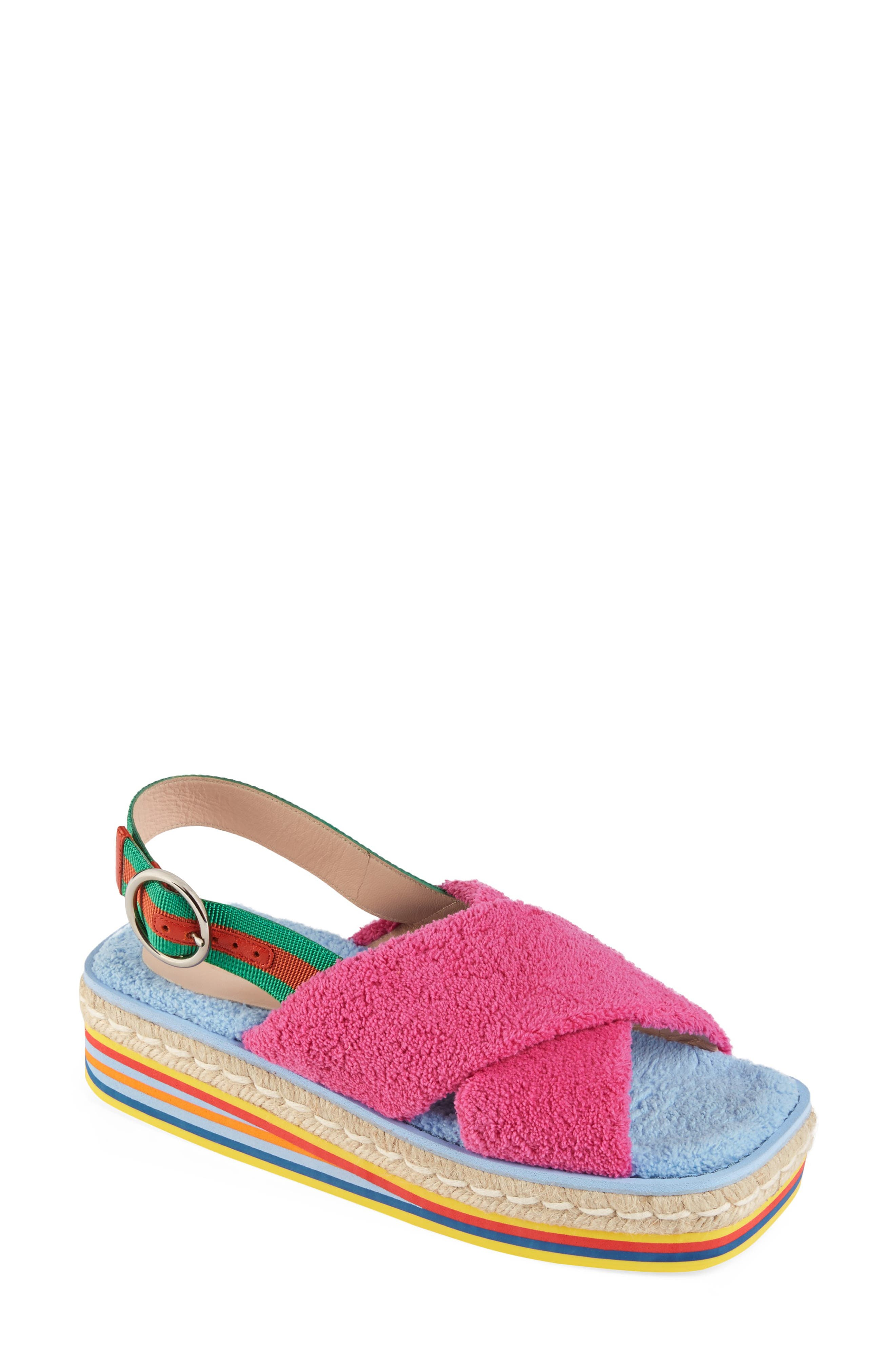 Gucci Slippers Huma Slingback Sandal