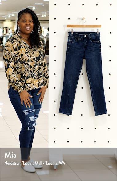 Madison High Waist Crop Straight Leg Jeans, sales video thumbnail
