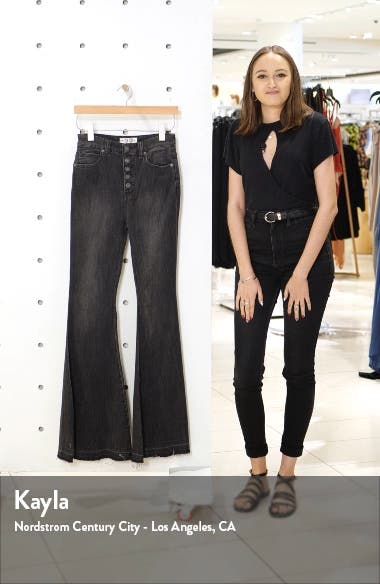 Irreplaceable High Waist Flare Jeans, sales video thumbnail