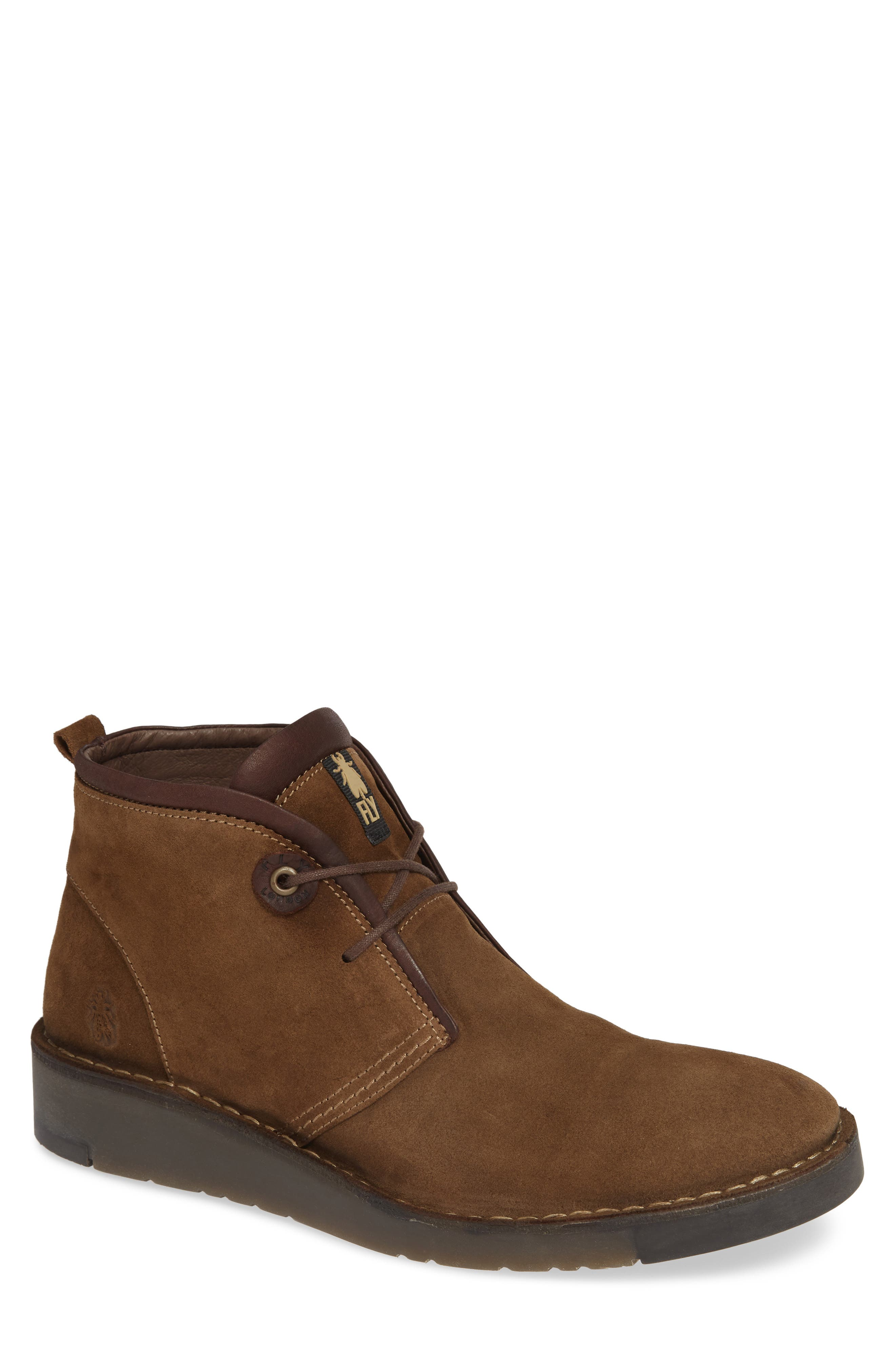 Fly London Sion Water Resistant Chukka Boot, Beige