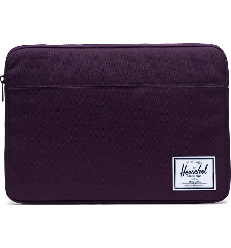HERSCHEL SUPPLY CO. Anchor 15-Inch MacBook Sleeve, Main, color, BLACKBERRY WINE