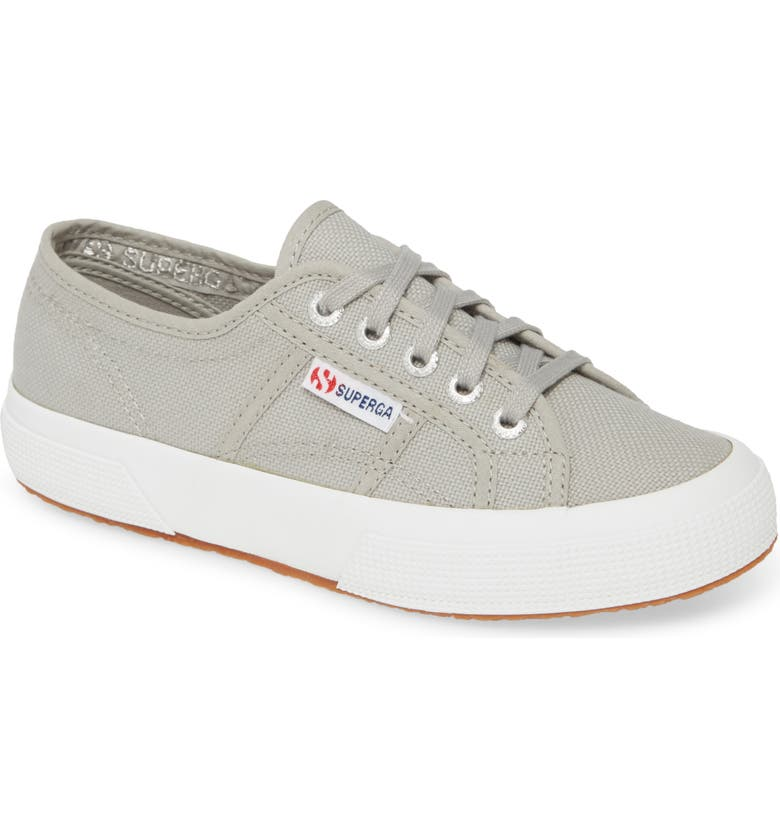 SUPERGA 'Cotu' Sneaker, Main, color, LIGHT GREY/ GREY