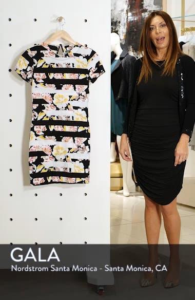 Enoshima Print Jersey Dress, sales video thumbnail
