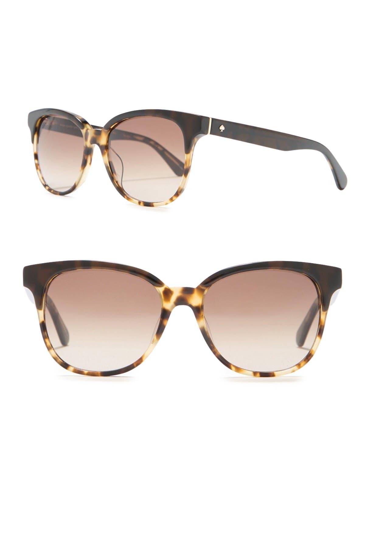 Image of kate spade new york arlynn 52mm square sunglasses