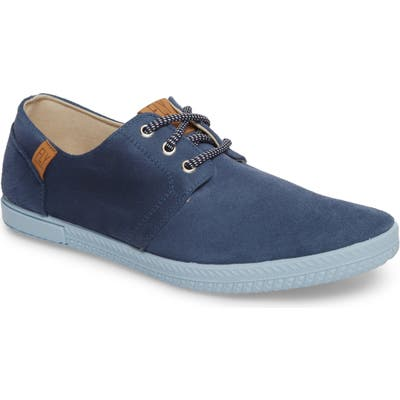 Fly London Sesh Low Top Sneaker, Blue