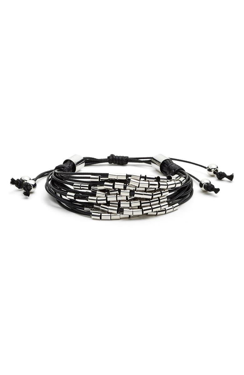 TASHA Beaded Multi-Cord Bracelet, Main, color, 001