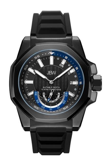 Image of JBW Men's Delmare Diamond Watch, 50mm - 0.04 ctw