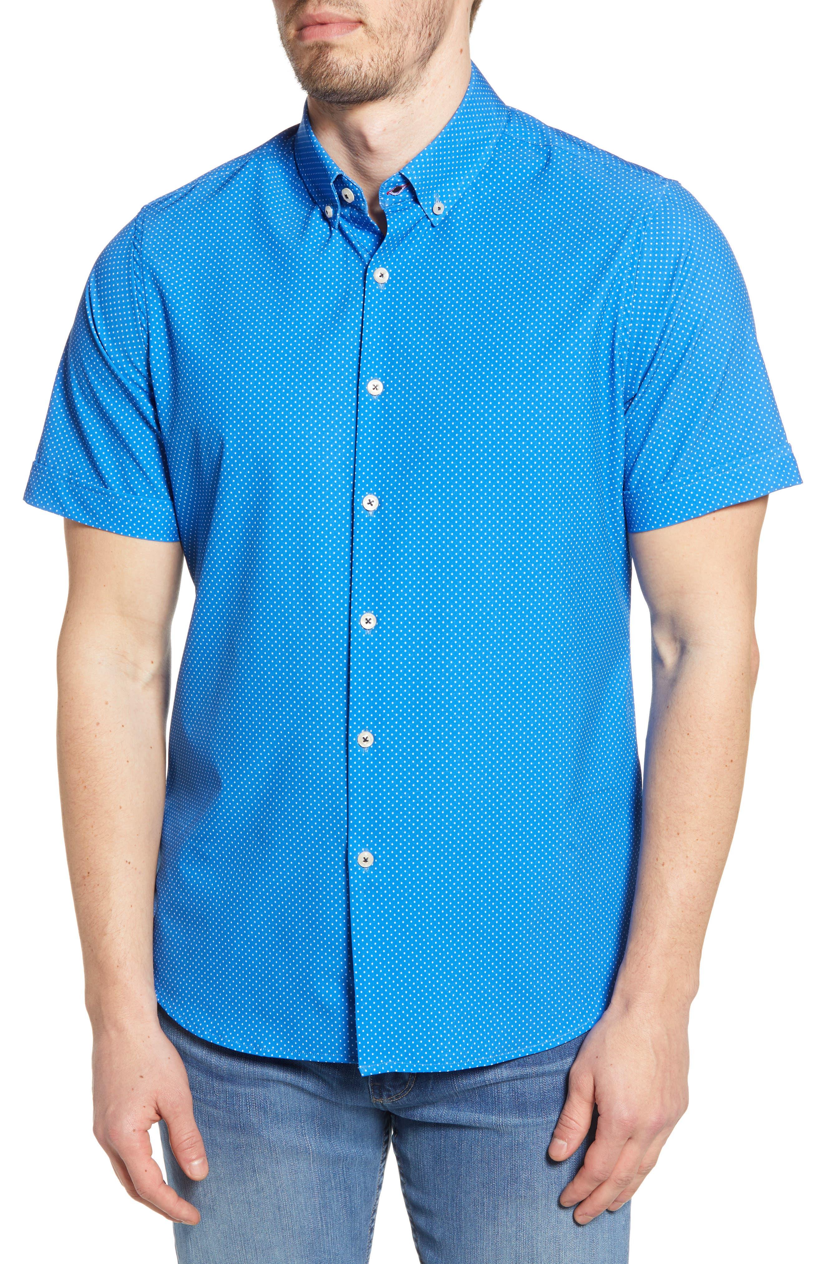 Short Sleeve Button-Down Shirt