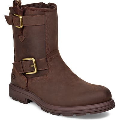 UGG Biltmore Waterproof Moto Boot, Brown