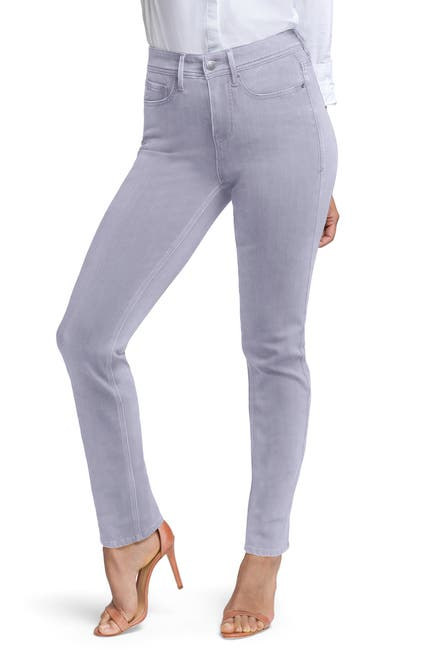 Image of CURVES 360 BY NYDJ Slim Straight Leg Ankle Jeans