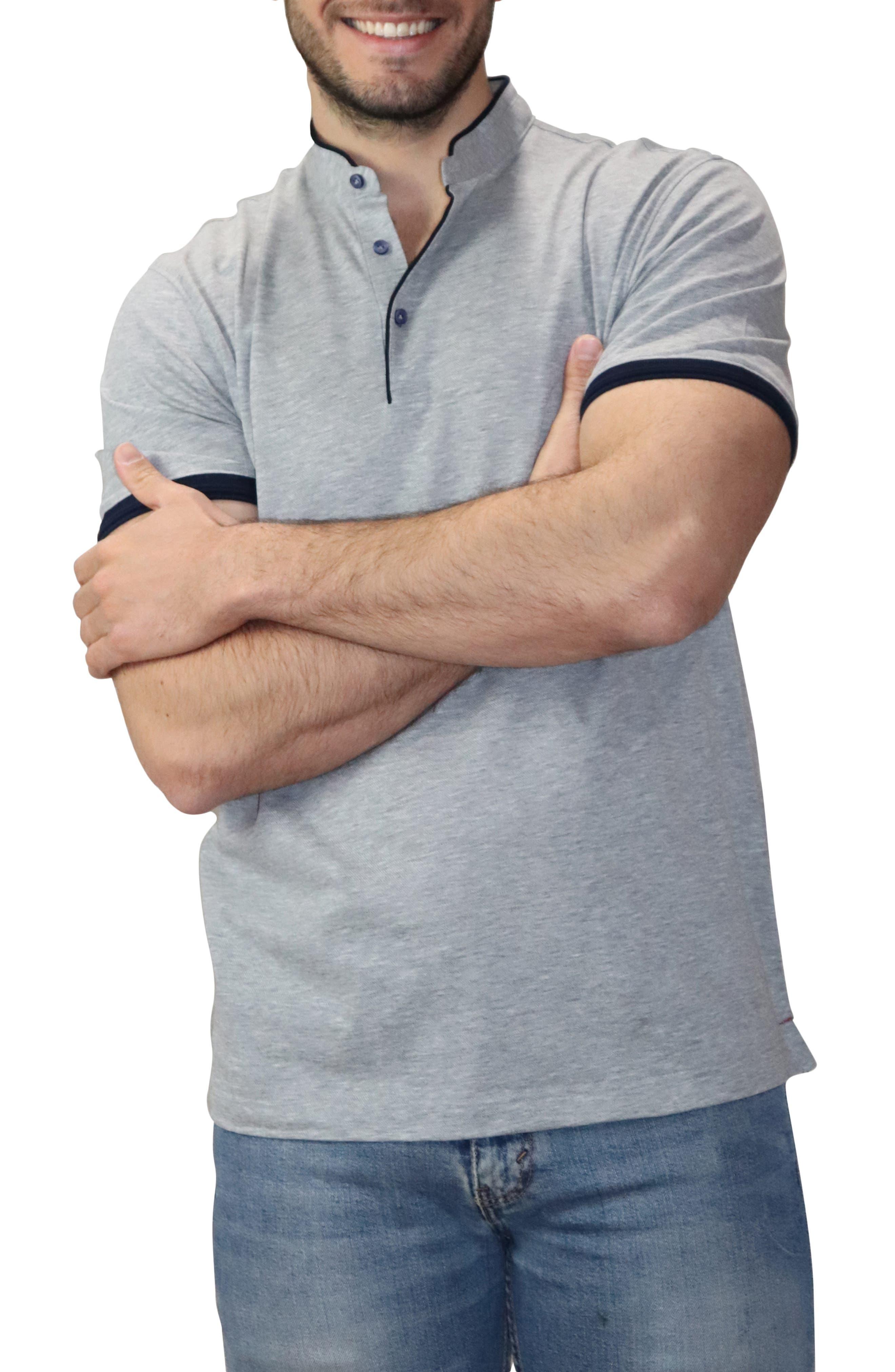 Band Collar Polo