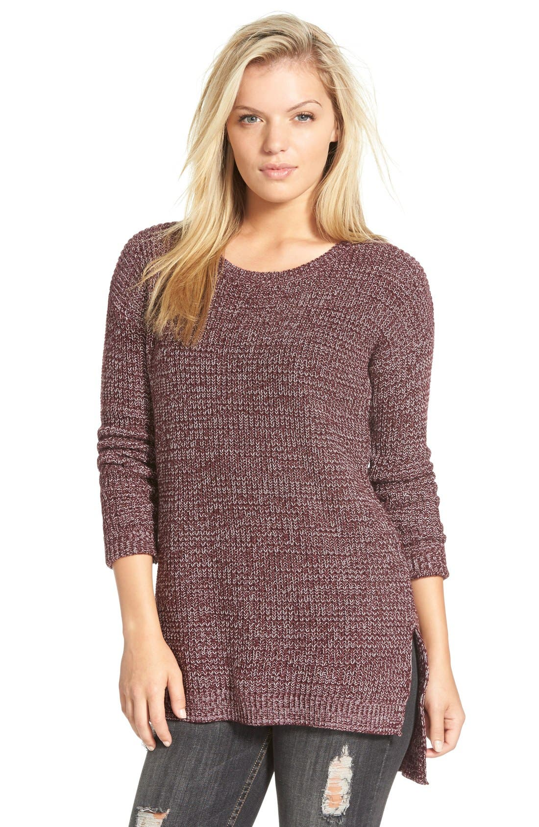 ,                             Textured Knit Pullover,                             Main thumbnail 30, color,                             930