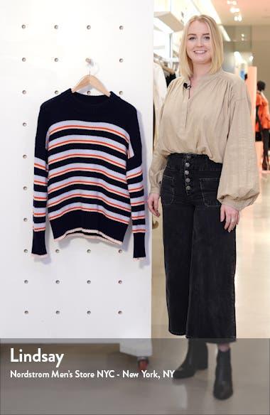 New Stripe Marin Wool & Cashmere Sweater, sales video thumbnail