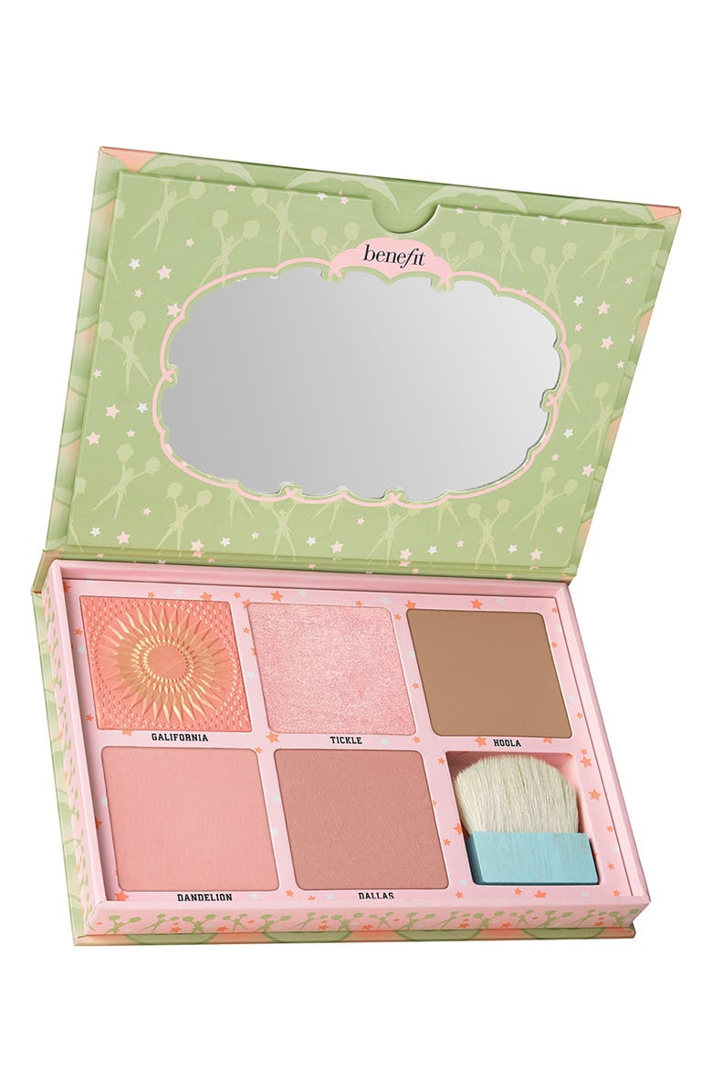 BENEFIT COSMETICS Benefit Cheekleaders Pink Squad Cheek Palette, Main, color, NO COLOR