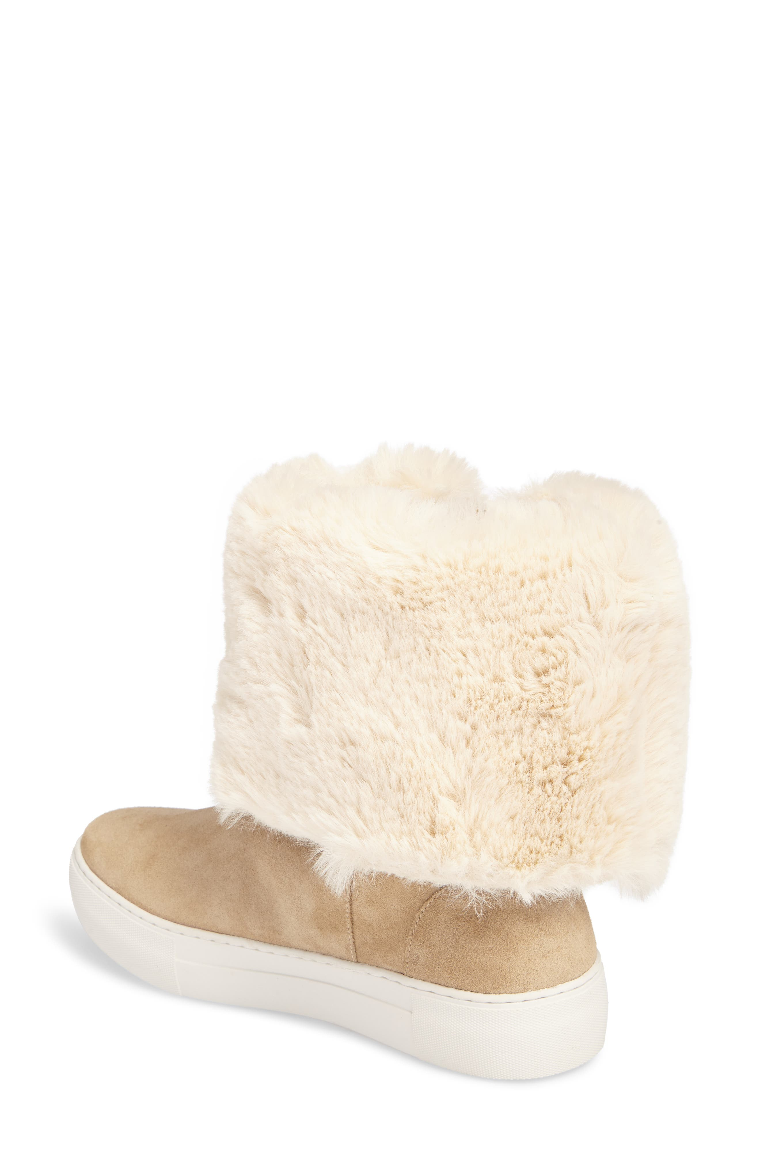 J/Slides | Apple Faux Shearling Boot