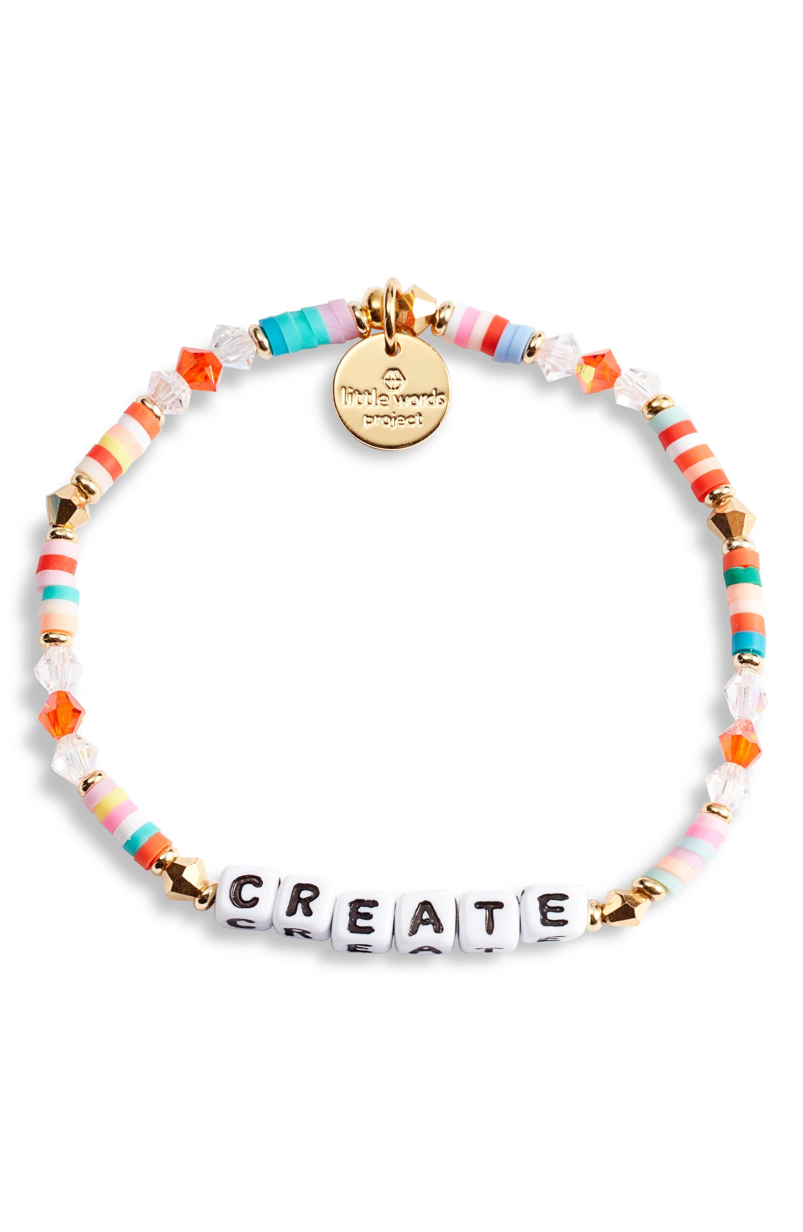 Create Beaded Stretch Bracelet