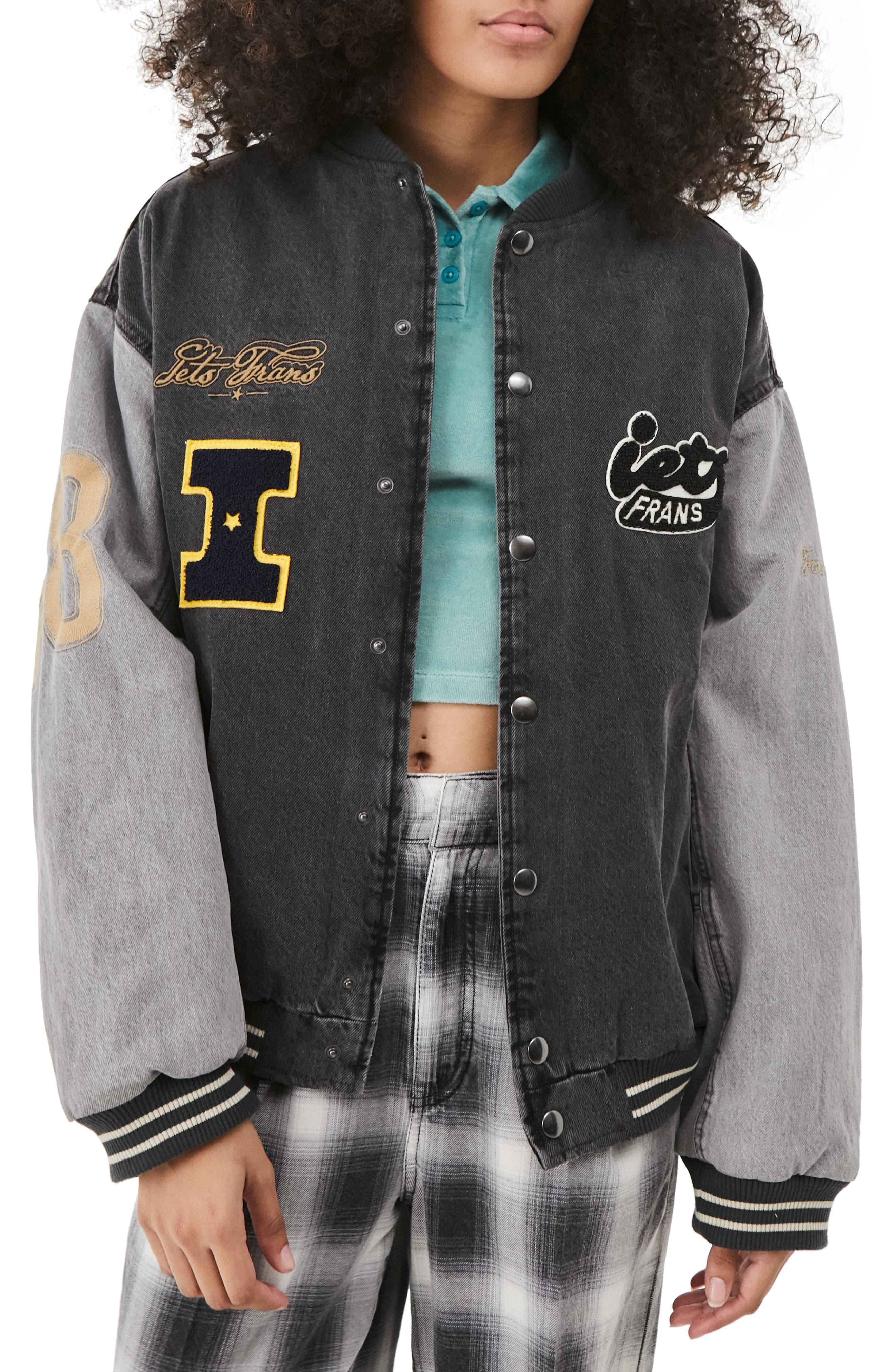 Casual Varsity Jacket