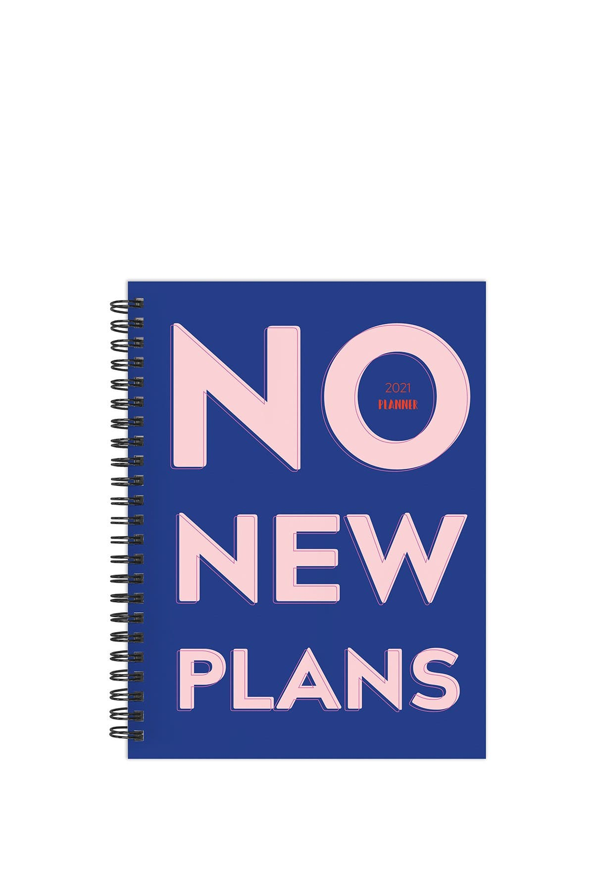 Image of TF Publishing 2021 No New Plans Medium Weekly Monthly Planner
