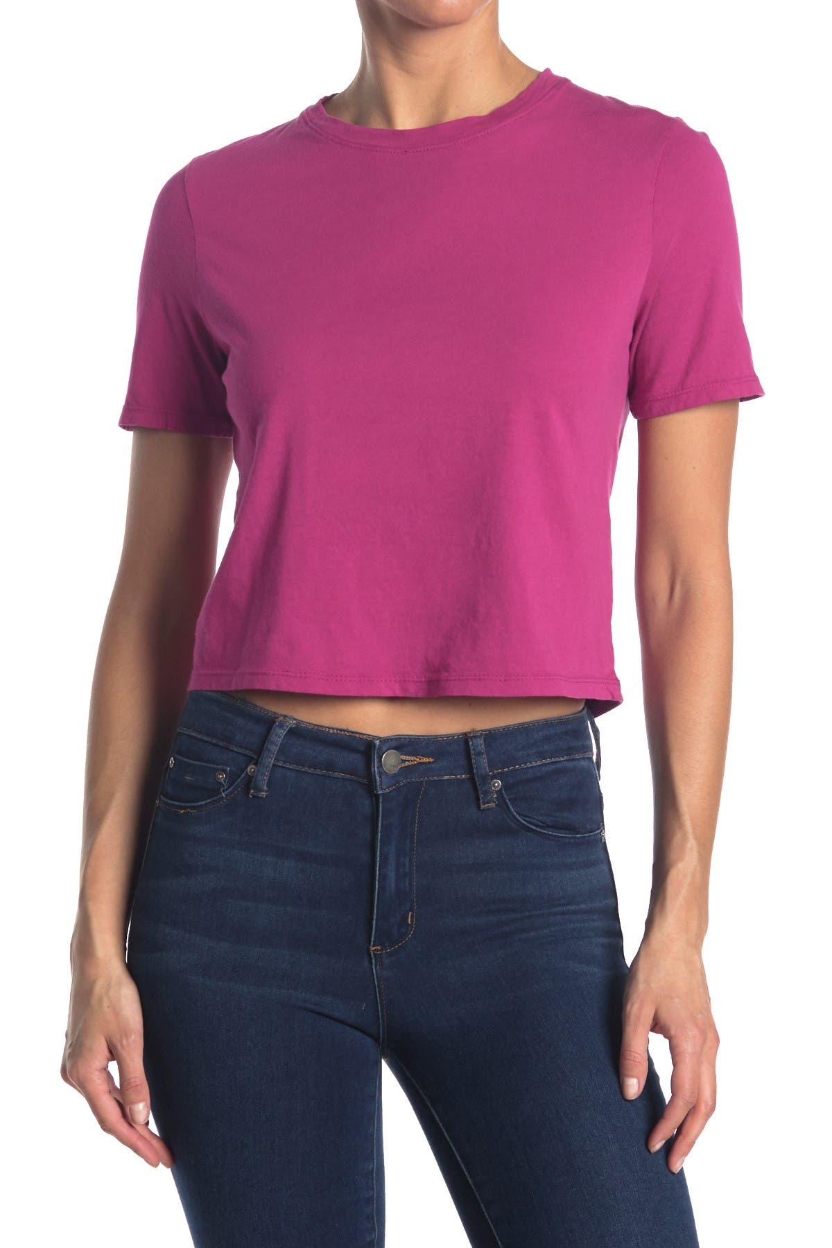 Image of ETICA Zoe Crop T-Shirt
