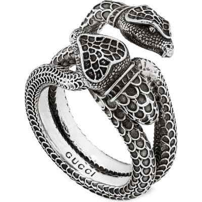 Gucci Double Snake Ring