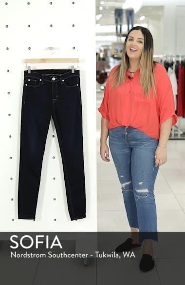 Hudson Nico Midrise Super Skinny Ankle Jeans, sales video thumbnail