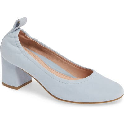 Taryn Rose Savannah Pump- Blue