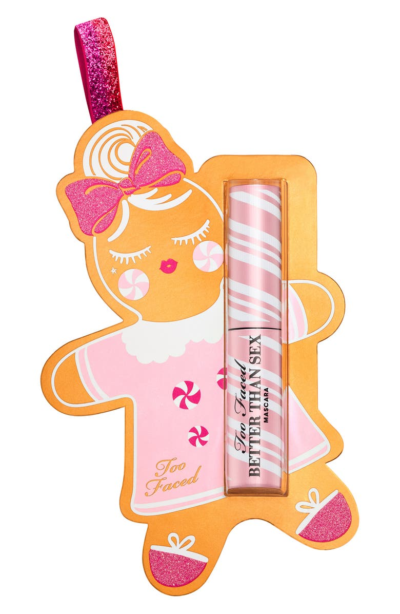 TOO FACED Deluxe Size Better Than Sex Mascara Ornament, Main, color, NO COLOR