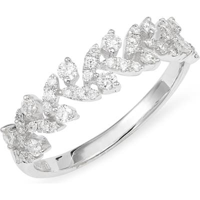 Bony Levy Getty Leaf Diamond Ring (Nordstrom Exclusive)