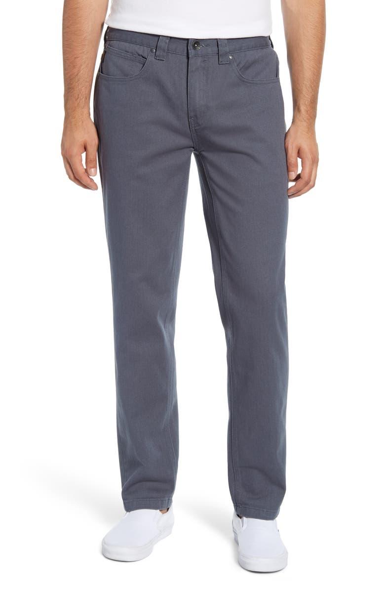 BILLABONG Fifty Regular Fit Jeans, Main, color, SLATE