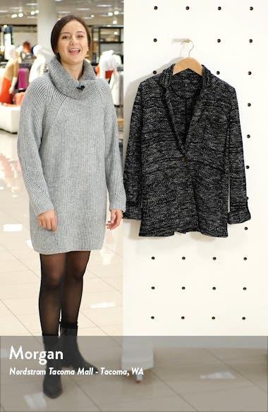 French Jacquard Knit Work Coat, sales video thumbnail