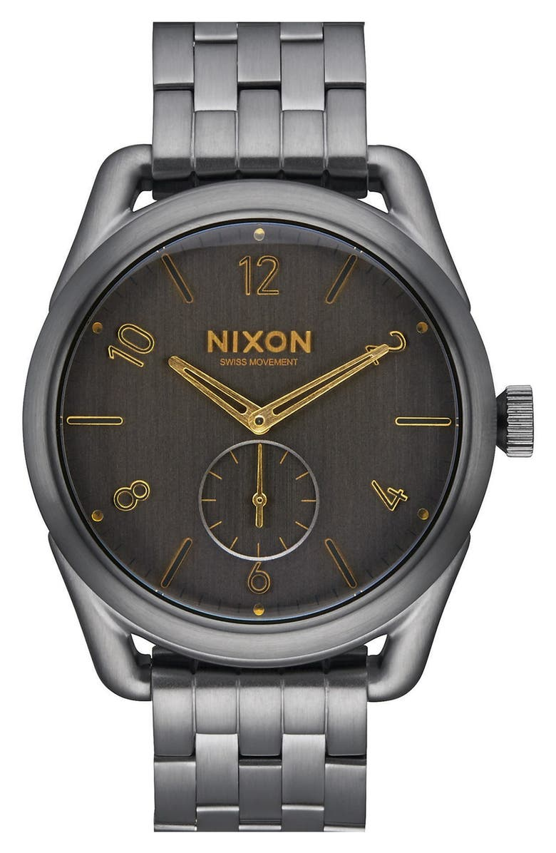 NIXON 'C39' Bracelet Watch, 39mm, Main, color, 001
