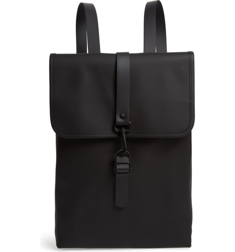 RAINS Waterproof Backpack, Main, color, 001