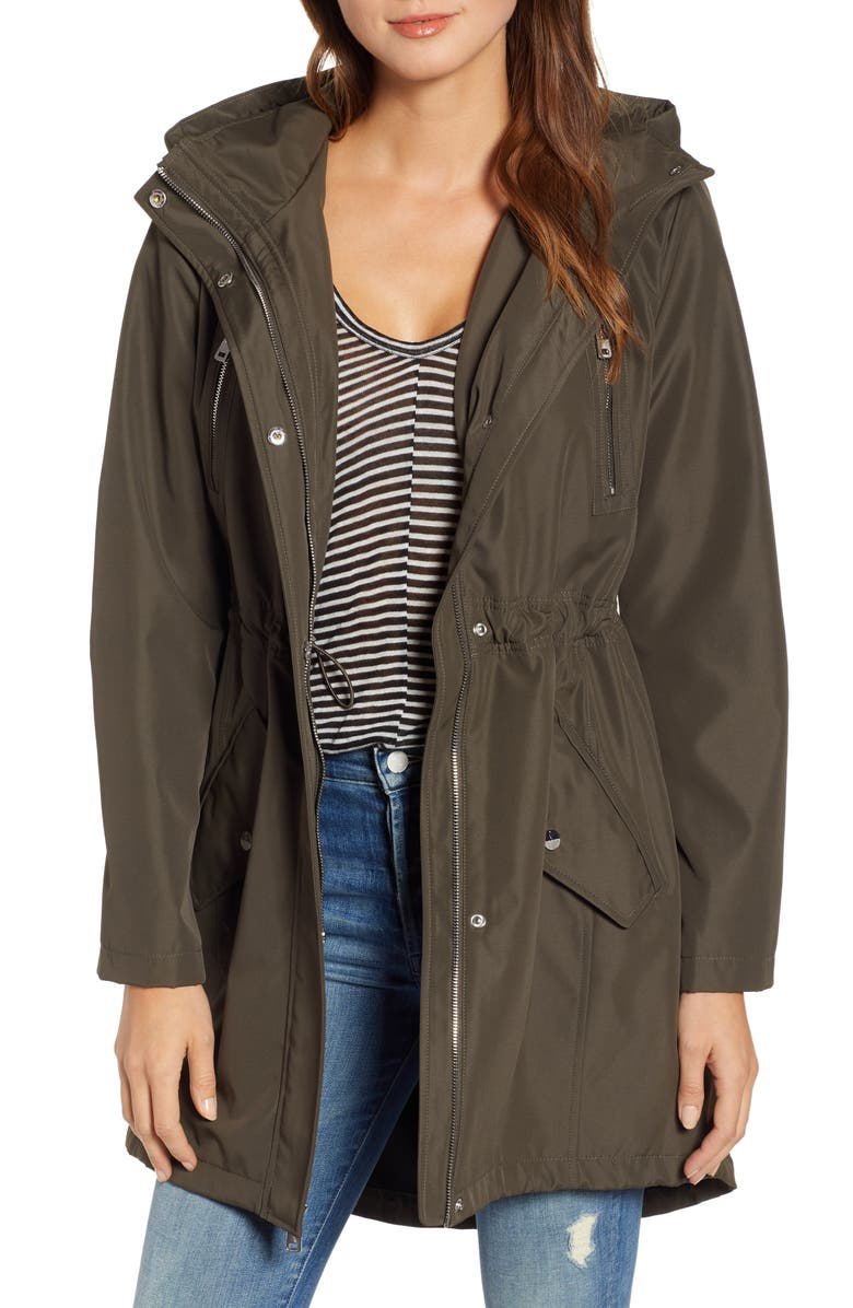 KENNETH COLE NEW YORK Soft Shell Jacket, Main, color, OLIVE