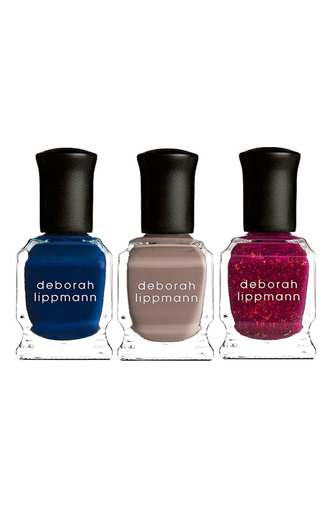 'She's Always a Woman' Mini Nail Lacquer Trio, Main, color, 000