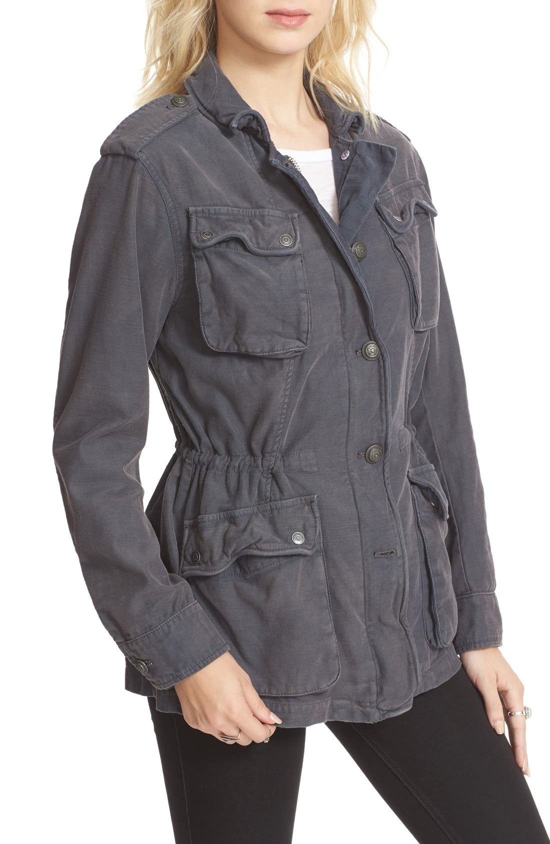 ,                             'Not Your Brother's' Utility Jacket,                             Alternate thumbnail 9, color,                             001