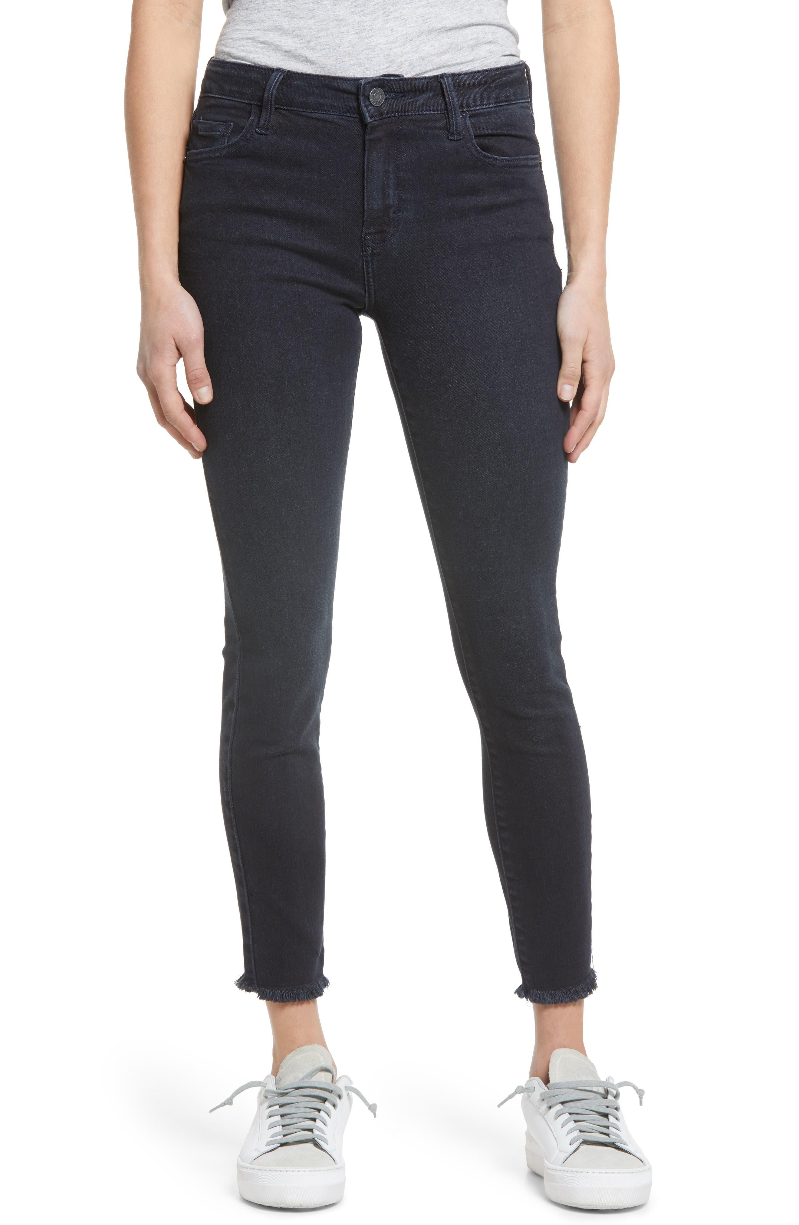 Clean Stretch Ankle Skinny Jeans