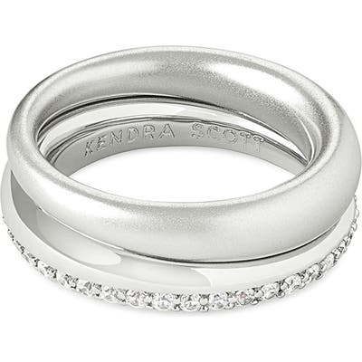 Kendra Scott Colette Set Of 2 Stackable Rings