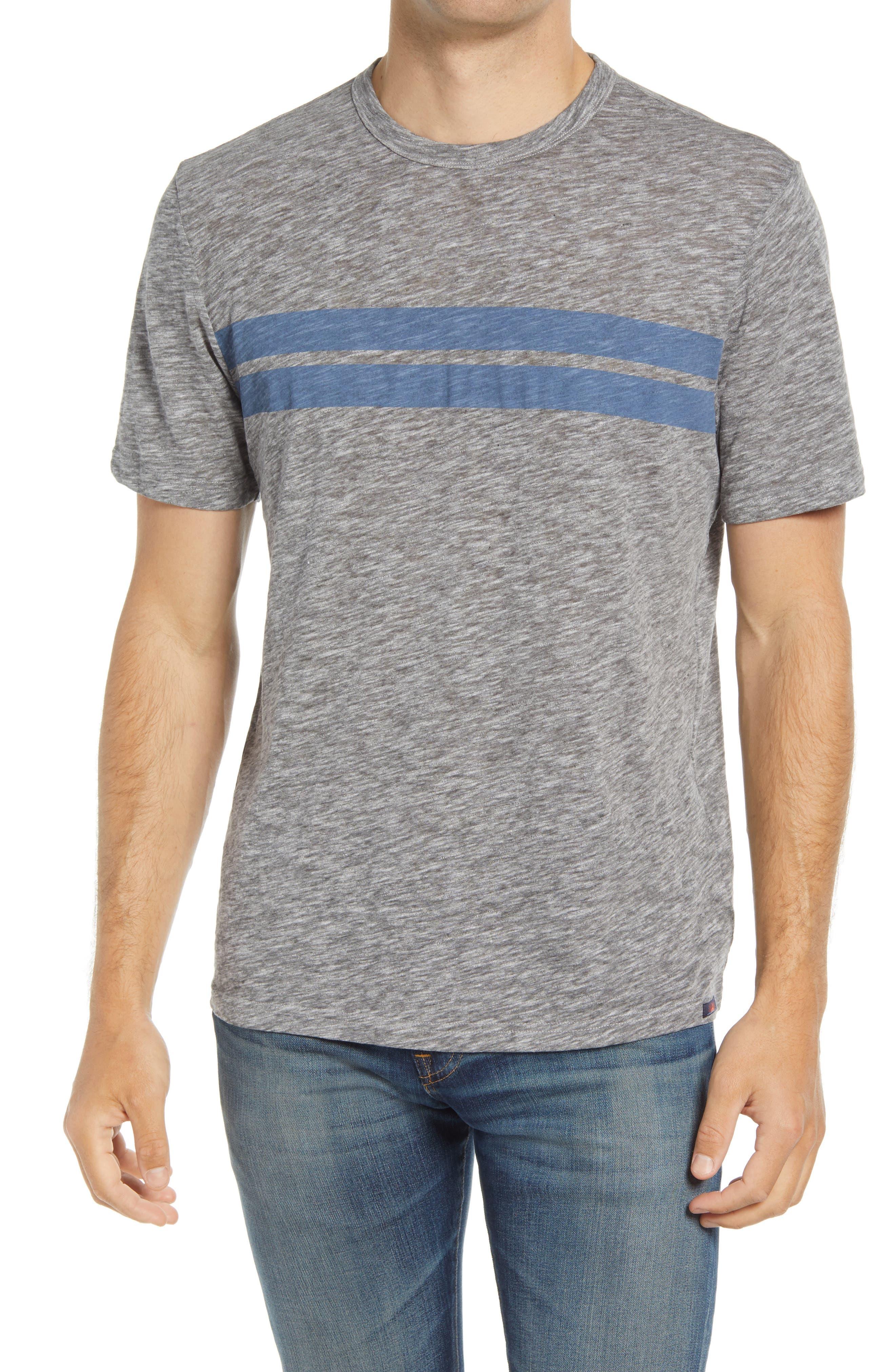 Twin Stripe Slub T-Shirt