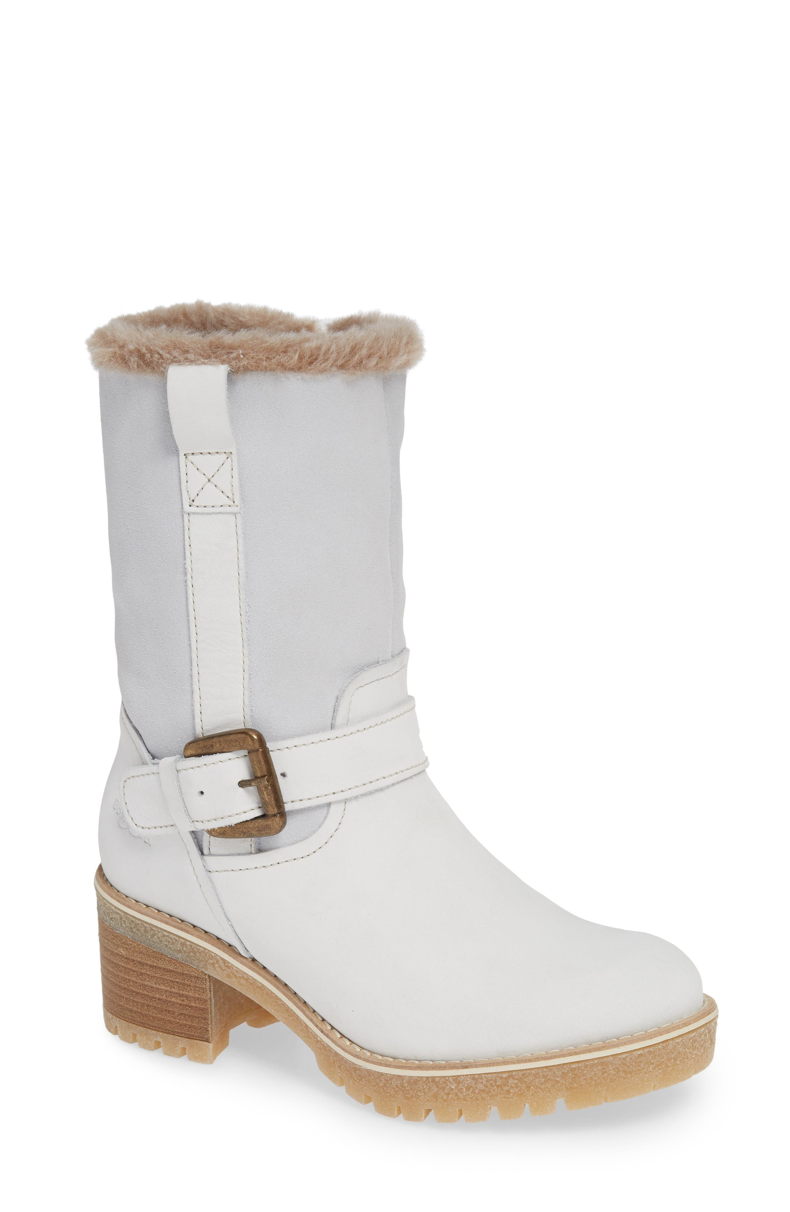 Bos. & Co. Maine Waterproof Boot, White