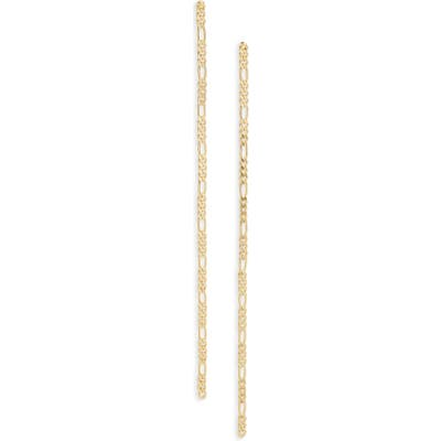 Jenny Bird Amaal Curb Chain Link Shoulder Duster Earrings