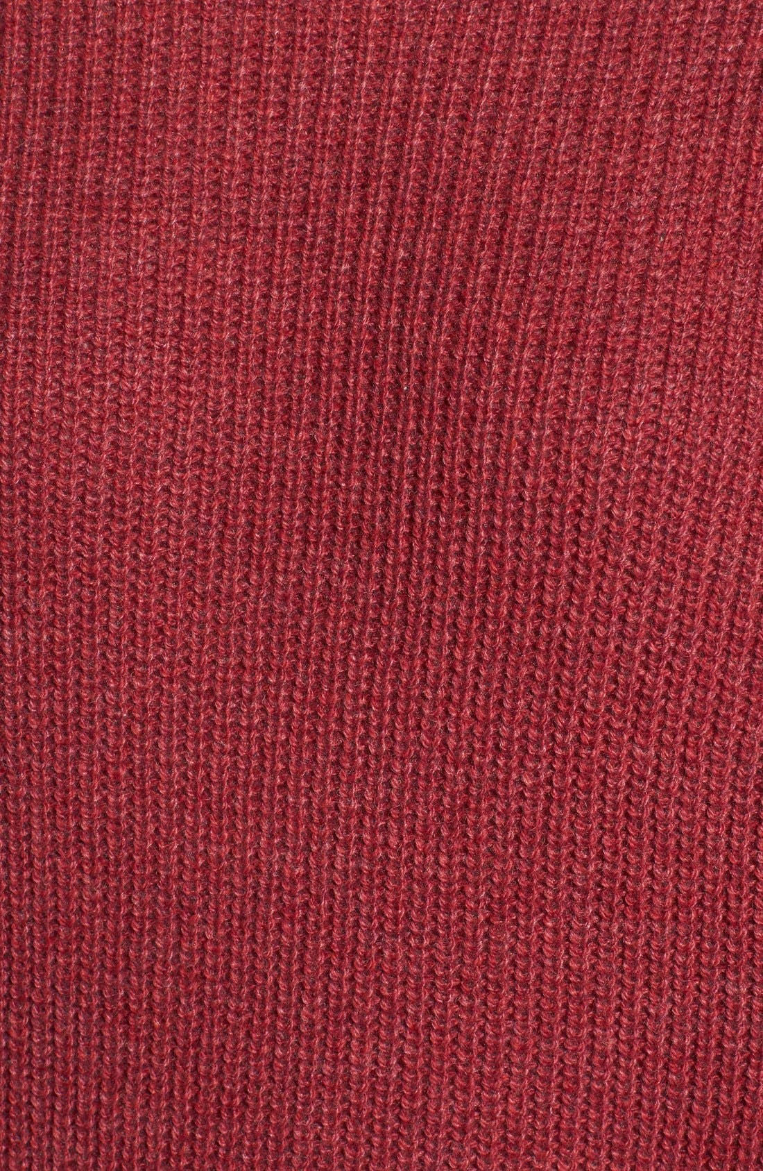,                             Ribbed Mock Neck Pullover,                             Alternate thumbnail 30, color,                             601