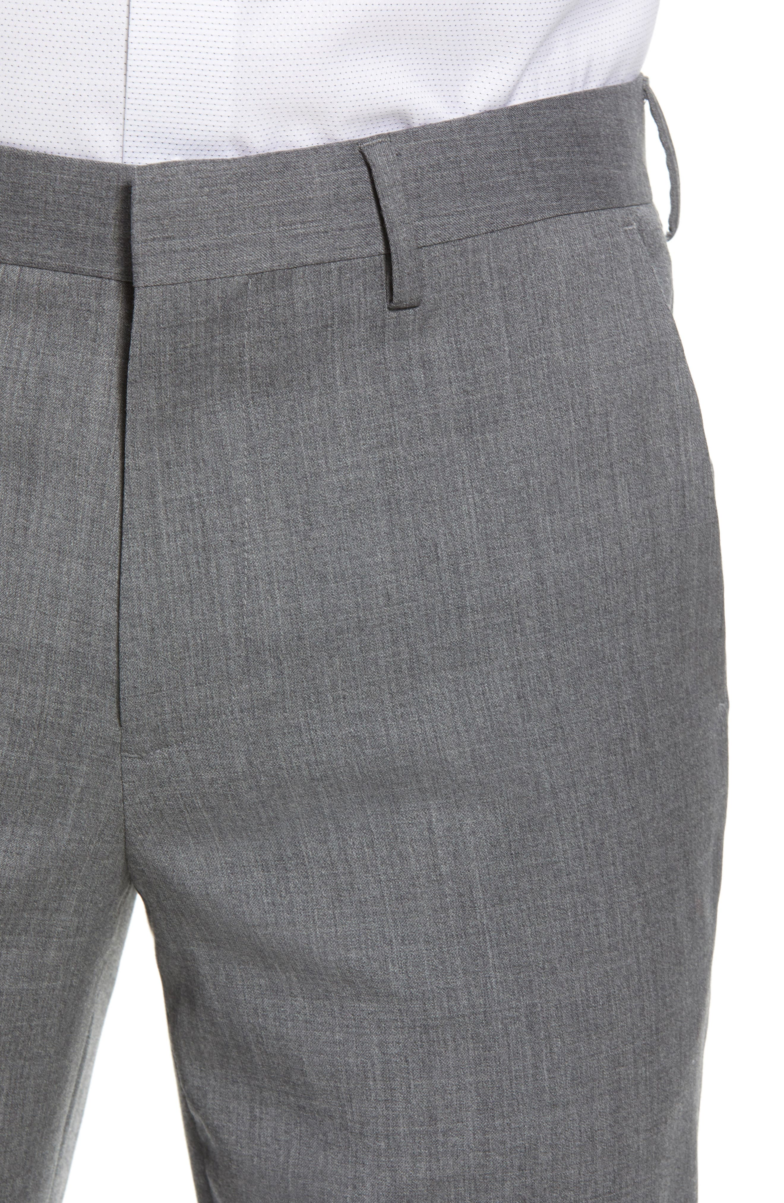 ,                             Jetsetter Slim Fit Flat Front Stretch Wool Trousers,                             Alternate thumbnail 23, color,                             050