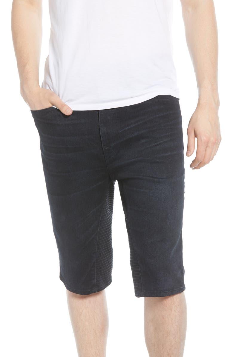TRUE RELIGION BRAND JEANS Marco Denim Shorts, Main, color, GELD FREEDOM BLUES