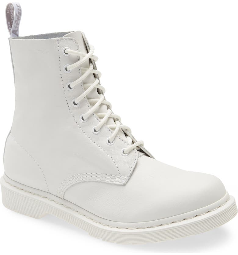 DR. MARTENS 1460 Pascal Boot, Main, color, WHITE