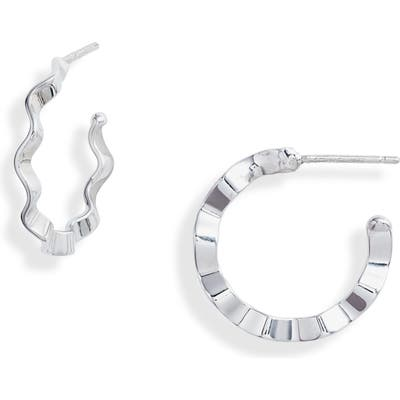 Karen London Rachel Hoop Earrings