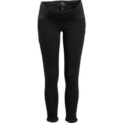 1822 Denim Re: denim Maternity Skinny Jeans, Black