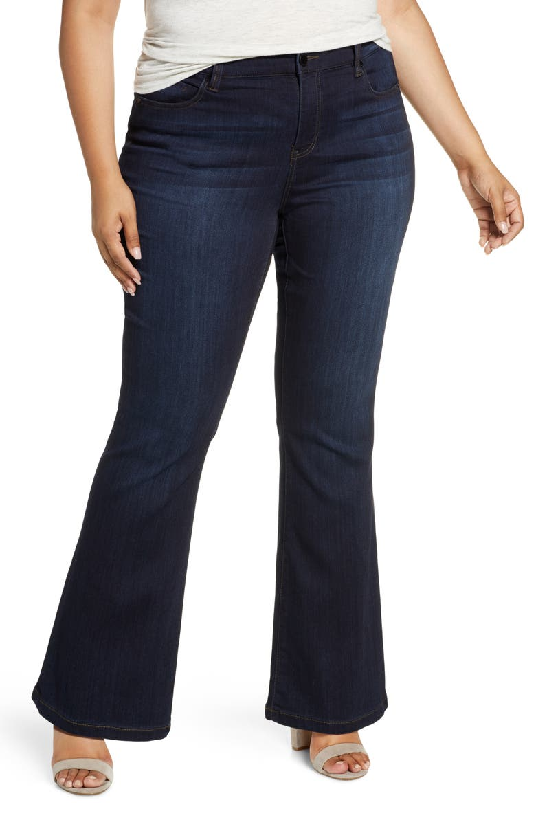 LIVERPOOL Lucy Bootcut Jeans, Main, color, DUNMORE DARK