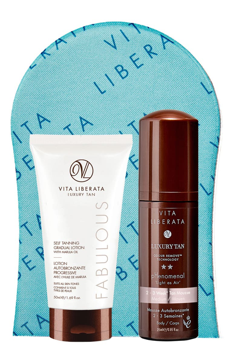 VITA LIBERATA Bronzed Basics Kit, Main, color, NO COLOR